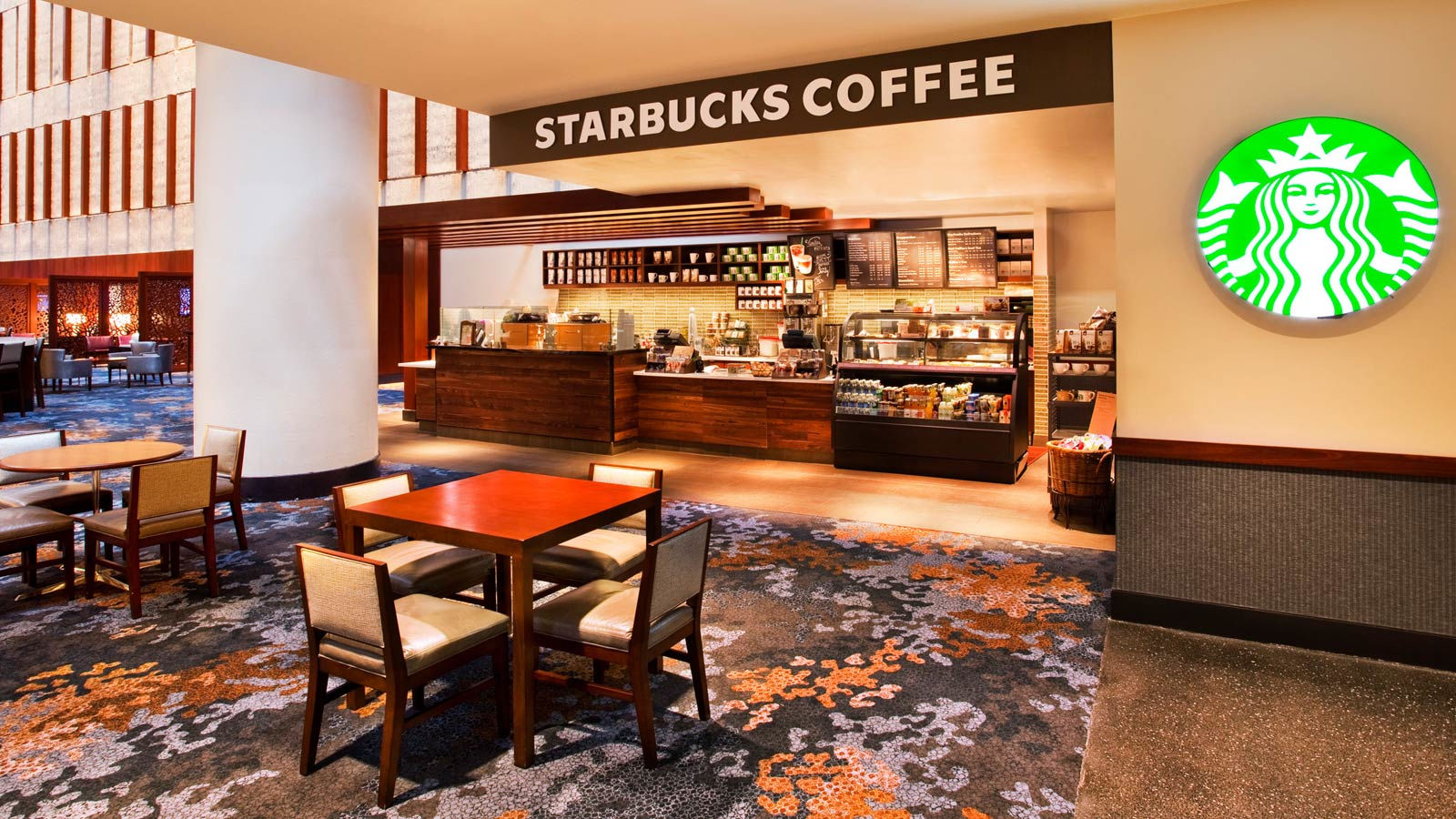 Downtown Atlanta Restaurants - Starbucks
