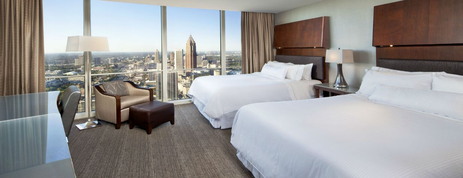 Premium Deluxe Guestrooms - The Westin Peachtree Plaza Hotel